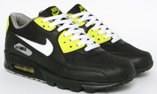 Nike Air Max 90 Premium – Black/Vibrant Yellow