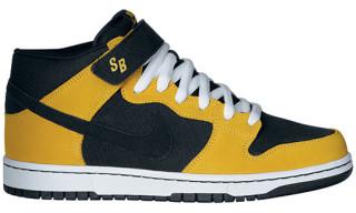 Nike Dunk Mid Pro SB – Black/Yellow