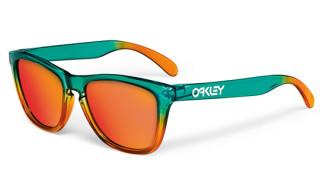 Oakley Fire/Flora Fade Frogskins