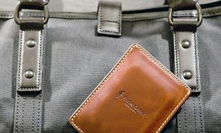 Porter Classic x FREECOM Leather 250GB Portable Hard Drive