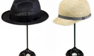 Robert Geller Straw Panama Hats by CA4LA