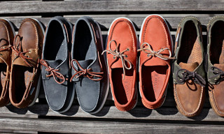 Ronnie Fieg x Sebago Dockside Collection for David Z.