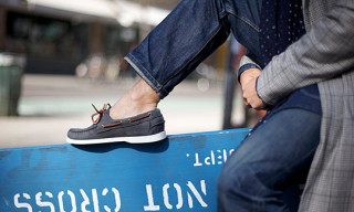 Ronnie Fieg x Sebago Dockside – Midnight Navy