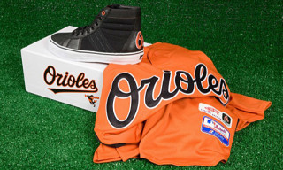 Vans Vault x MLB Baltimore Orioles Sk8-Hi LX for Commonwealth