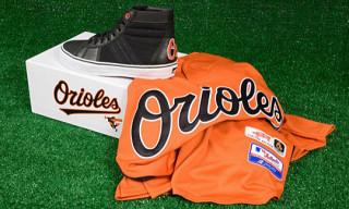 Vans Vault x MLB Baltimore Orioles Sk8-Hi LX for Commonwealth