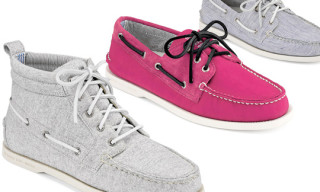 Band of Outsider for Sperry Topsider Spring/Summer 2010 – Original 3-Eye and Chukka Boot