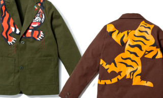"BBC/Ice Cream ""Space Beach"" Tiger Jacket Spring/Summer 2010"