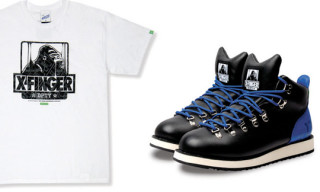 Fingercroxx x XLarge Boot and T-Shirt
