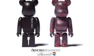 Invincible x Medicom 100% Bearbrick