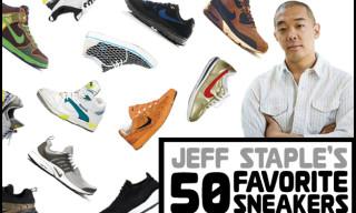 Jeff Staple's 50 Favorite Sneakers