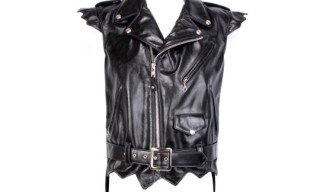 Jeremy Scott x Schott Leather Vest Spring/Summer 2010