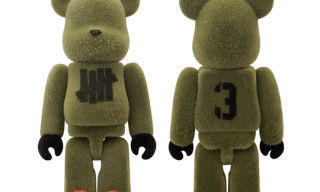 Medicom x Undefeated 100% Bearbrick