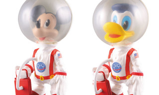 "Mickey Mouse and Donald Duck ""Astronaut Versions"" by Medicom"
