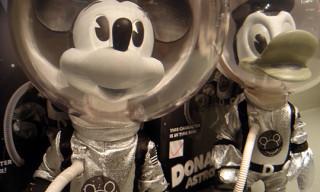 Medicom x NEXUSVII® Mickey & Donald Astronaut Vinyl Figures