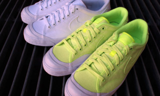 Nike All Court Premium Canvas Summer 2010 – Neon Yellow and White