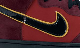 """Nike Dunk Hi SB Premium """" Iron Man"""""""