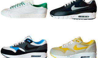Nike Summer 2010 Footwear – Air Max 1, Tennis Classic, Air Max 90 Current Torch