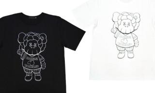 """Original Fake x Santastic! """"KAWS Hasheem"""" T-Shirts"""