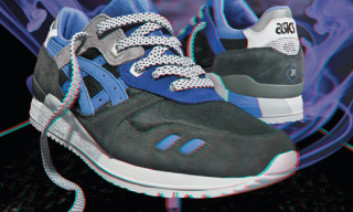 """Sneaker Freaker x Asics Gel Lyte III """"Alvin Purple"""""""