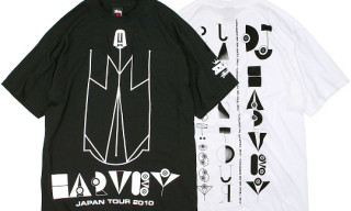 "Stussy x DJ Harvey ""Japan Tour"" T-Shirts"