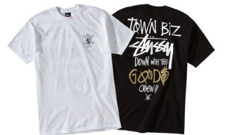 "Stussy Seattle x Goods Seattle ""Town Biz"" T-Shirts"