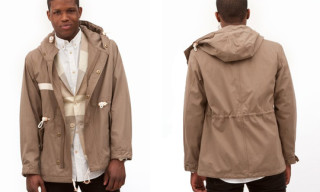 United Bamboo Military Short Parka