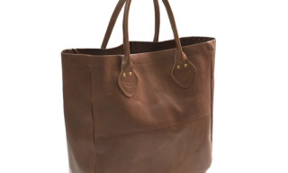 Victim Leather Tote Bag
