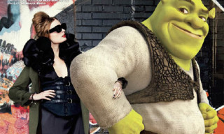 """Shrek Of A Guy"" by Ellen von Unwerth for VMAN"