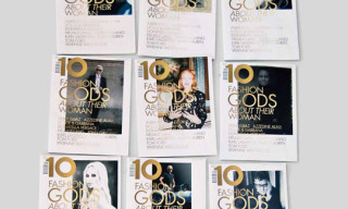 "10 Magazine 10th Anniversary Issue – ""10 Fashion Gods"" Covers"