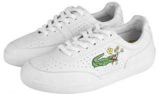 fake lacoste shoes logo