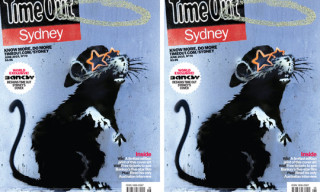 Banksy x Time Out Sydney Cover