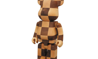 Medicom Toy 400% Chess Wood Bearbrick