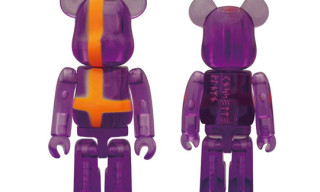 Medicom Toy x Cassette Playa 100% Bearbrick