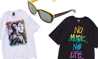 Tower Records x Stussy 30th Anniversary T-Shirts & Sunglasses
