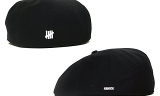 UNDFTD x Kangol ECK-1 Cap – Black Colorway