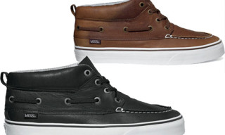 Vans California Chukka Del Barco Waxed Leather
