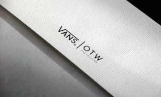 Vans OTW Prints – Eric Elms, Dimitri Coste, The Blackouts