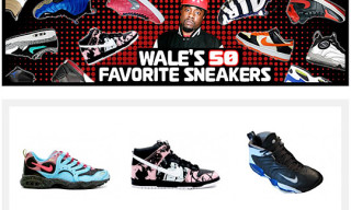 Wale's 50 Favorite Sneakers