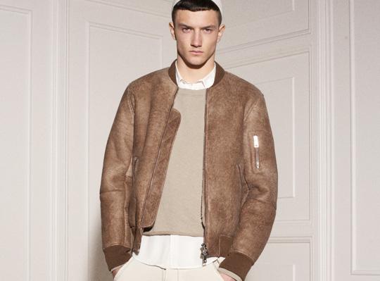 Bomber jacket pilot – Modern fashion jacket photo blog