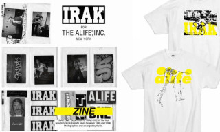 Irak for Alife New York Summer 2010 – T-Shirts and Zine
