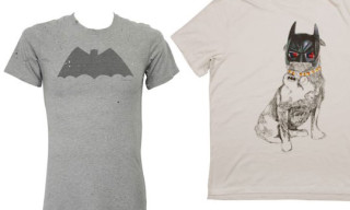 "colette x DC Comics 75 Anniversary – Lanvin and Balmain ""Batman"" T-Shirts"