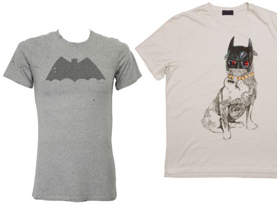 colette x dc comics 75 anniversary lanvin and balmain batman t shirts highsnobiety. Black Bedroom Furniture Sets. Home Design Ideas