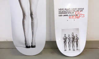 "Daniel Josefsohn ""Newton Frontside Air"" Skateboard Deck"