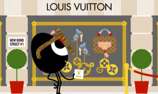 Darcel visits the Louis Vuitton Maison London