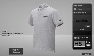 F.C.R.B. Customize Polo Shirt