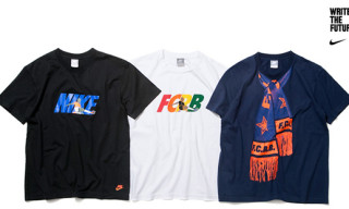 "F.C.R.B. x Nike Sportswear ""Write The Future"" T-Shirt Collection"