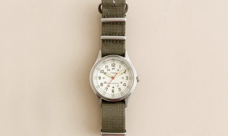 J. Crew x Timex Vintage Field Army Watch 2010 Edition
