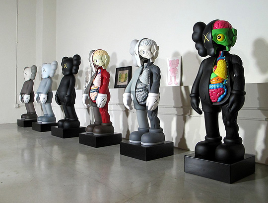 Kaws At The Aldrich Contemporary Art Museum Small