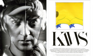 Kaws in Interview Magazine May 2010