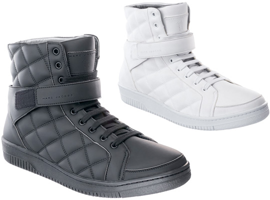 87ad181aae well-wreapped Marc Jacobs Quilted High Top Sneaker Fall Winter 2010  Highsnobiety